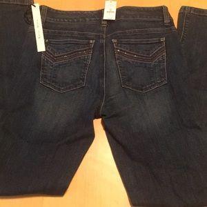 WHBM slim ankle jeans